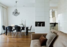 black and white dining room home design ideas