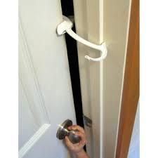 How To Open A Locked Bathroom Door Amazon Com Door Monkey Door Lock And Pinch Guard Childrens