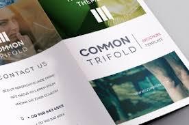 free tri fold brochure template premium and free brochure templates pixeden
