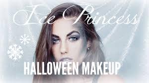 diy ice princess halloween makeup tutorial natalie tasha