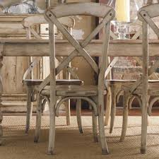 distressed wood table and chairs distressed white dining chairs new hooker furniture wakefield x back