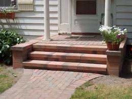 Brick Stairs Design Concrete Stairs Cost How To Build Free Standing Wooden Steps