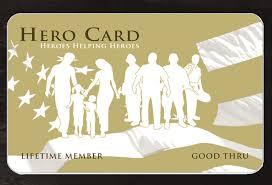 my hero card heroes helping heroes