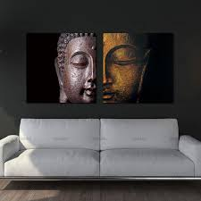 home decor free shipping canvas painting wall art pictures home decor free shipping buddha