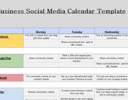2016 social media marketing calendar my excel templates