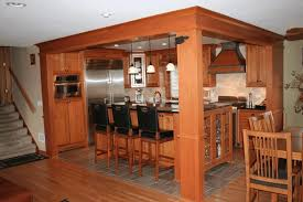 kitchen with light oak cabinets simple brown wooden kitchen