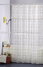 Silver Shower Curtains Bathroom Enchanting Extra Long Shower Curtain Liner For Bathroom