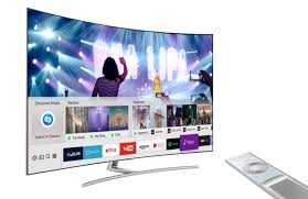 pics of a tv samsung smart tv offers shazam service to let users identify