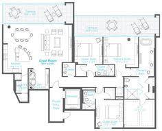 3 bedroom condo floor plans google search home floorplans