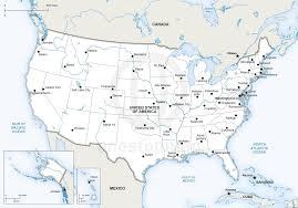 Political Map Us Us Political Map Cities Basic Map Usa Major Cities Printable 95