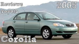 2005 toyota corolla review reviews toyota corolla 2005