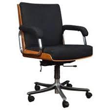 Retro Swivel Armchair Turquoise Leather Swivel Armchair Desk Chair Retro G Plan Eames