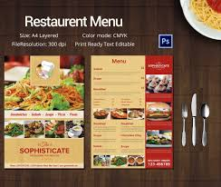 food menu template indian restaurant menu template design