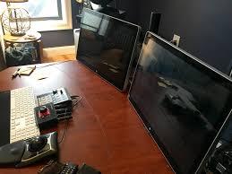 Studio Trends 30 Desk by Mac Setups Audio Engineer Mac Pro Workstation