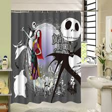 Nightmare Before Christmas Kitchen Decor Enthralling Waterproof 3d Halloween Shower Curtain Nightmare Before
