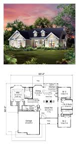 cape cod country craftsman ranch traditional house plan 95900