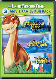 amazon com the land before time v vii 3 movie family fun pack