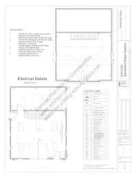 28x36 saltbox garage 12 16 plans blueprints sample page 07 sds plans