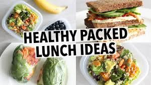easy healthy lunch ideas for school or work