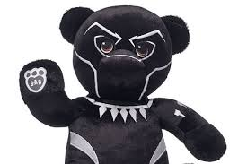 build a teddy build a brings wakanda to you with snuggly black panther teddy