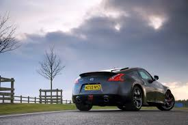 nissan sports car black nissan 370z coupe black edition 40th anniversary special for europe