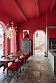 Best  Red Interiors Ideas On Pinterest Red Interior Design - Interior design house images