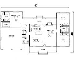 large ranch floor plans majestic ranch homes free house plan exles bedroom open plan