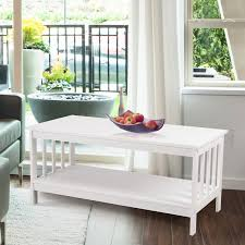 Ivory Coffee Table Adeco Ivory Coffee Table Tv Stand Ft0102 I