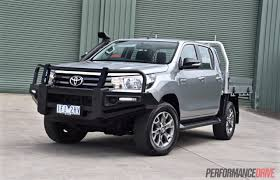 cummins toyota 2016 toyota hilux 2 8 td review video performancedrive