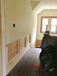 Install Wainscoting Over Drywall High Street Market 3rd Floor Diy Wainscoting And Trim Update