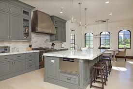 what color tile goes with gray cabinets grey kitchen cabinets and how to decorate your kitchen with them