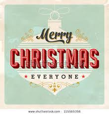 vintage christmas card vector eps10 grunge stock vector 115565356