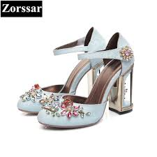 wedding shoes luxury aliexpress buy summer woman shoes luxury brand rhinestone