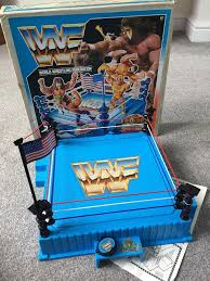Wrestling Ring Bed by Wwf Hasbro Wrestling Ring In Leicester Leicestershire Gumtree