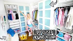 diy closet life hacks organization alisha marie u0027s closet tour