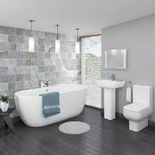 home interior figurines bathroom ideas in grey varyhomedesign