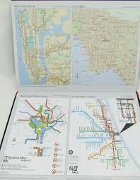 Chinatown Chicago Map by Black N Red Casebound Notebooks