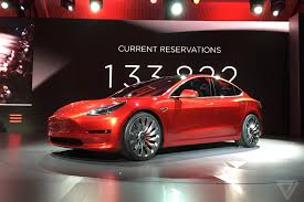 tesla tesla model 3 announced release set for 2017 price starts at