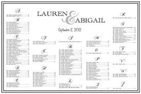 wedding reception seating chart items similar to wedding seating chart table assignments
