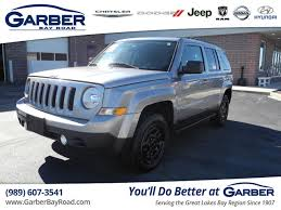 pre owned jeep patriot certified pre owned 2016 jeep patriot sport suv in saginaw