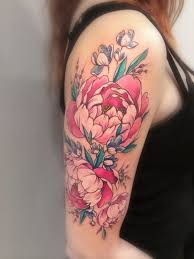 44 beautiful peony tattoos collection