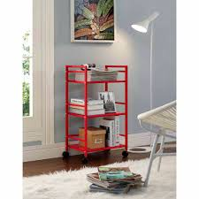 marshall 3 shelf rolling storage cart m walmart com