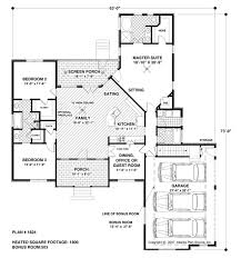 home design plans in 1800 sqft traditional style house plans 1800 square foot home 1 story 4