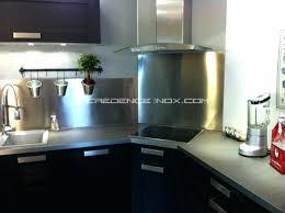 plaque inox cuisine castorama tole inox pour cuisine incroyable tole inox pour cuisine 8 r233nover
