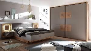 Schlafzimmer Komplett Led Capri Xl Set Wildeiche Grau Hirnholz Inklusive Led