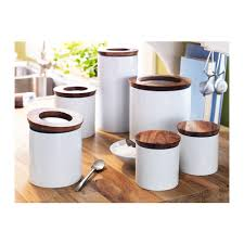 ikea kitchen canisters giada uses these unfortunately white has no place in my kitchen