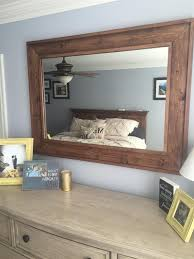 Frame For Bathroom Mirror by Best 20 Rustic Mirrors Ideas On Pinterest Farm Mirrors