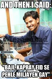 Eid Memes - 10 hilarious eid memes every pakistani can relate to