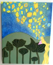 interpretation rapunzel u0027s painting tangled