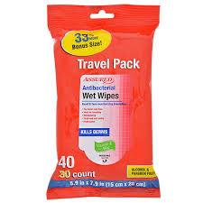 travel packs images Bulk assured antibacterial wet wipes 40 ct travel packs at jpg